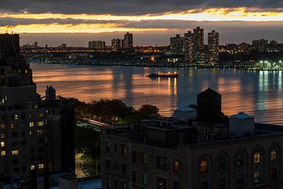 Dusk on the Hudson