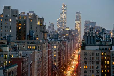 West End Avenue @ Night II