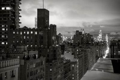 Downtown View _ bw