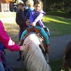 Bonnie on her first pony :) A natural...