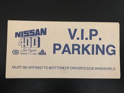 1990 Nissan 400 VIP Parking Pass