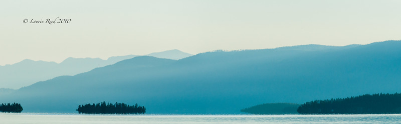 Flathead Lake from Polson, Montana