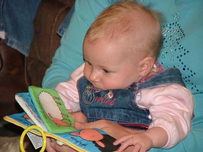 Mallori reading