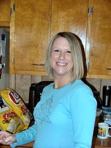 Lori grins