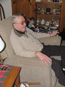 Dad enjoying
