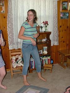 Checkin a dance move