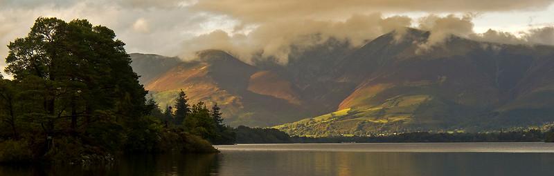 September light, Skiddaw, English Lake District