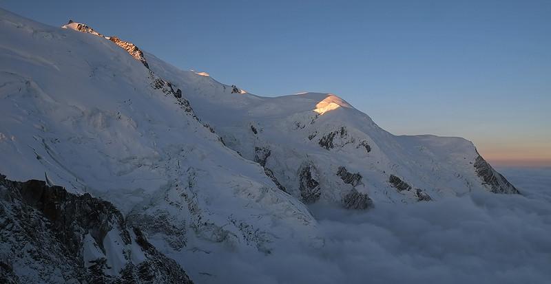 Mont Blanc du Tacul et Mont Maudit, Massif du Mont Blanc, France