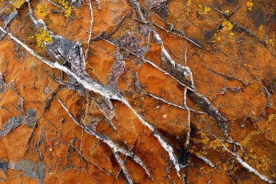 quartz abstract, Lleyn Peninsula, North Wales