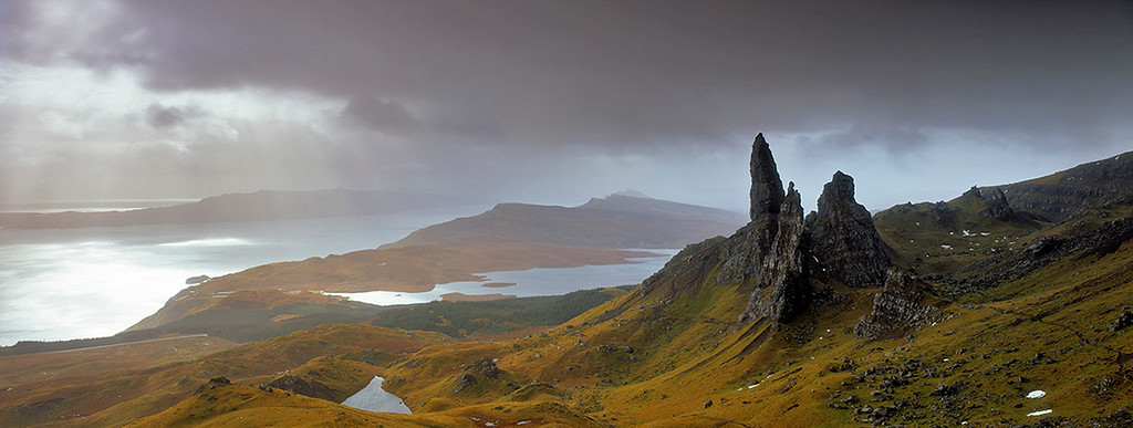 In the flow of time, Trotternish, Isle of Skye