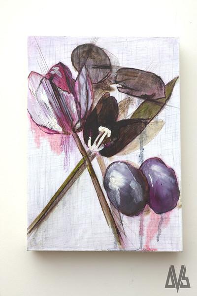 Still Life w. Tulips