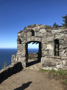 Cape Perpetua Lookout.