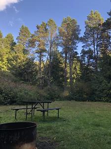 Spacious campsite.