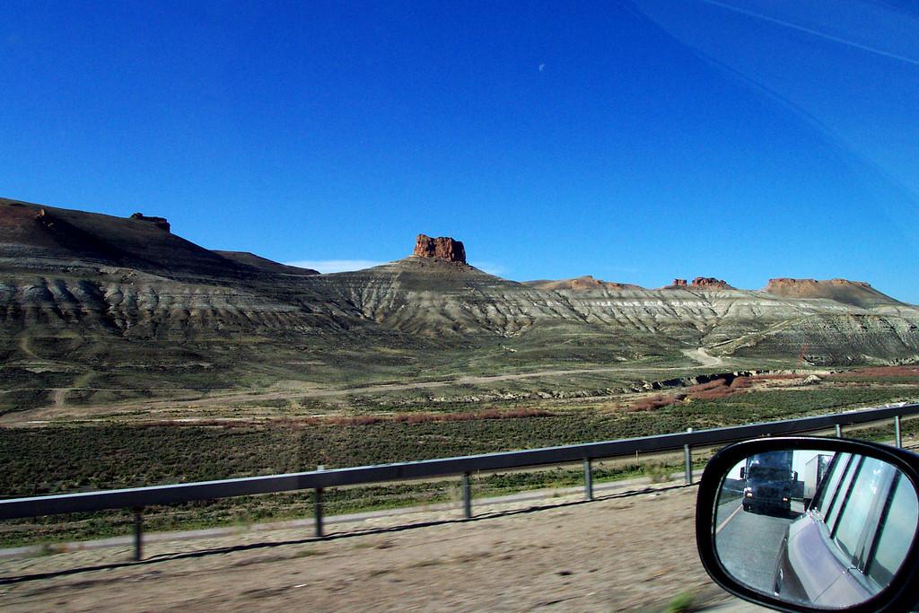 Westward Bound on Interstate 80 in Nevada