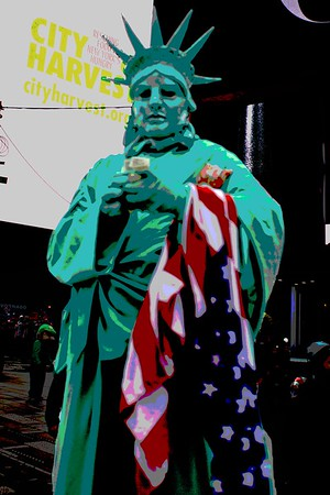 Statue of Liberty Times Sq