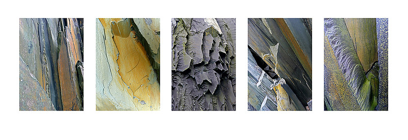 fractures, Dinorwic, Snowdonia, North Wales