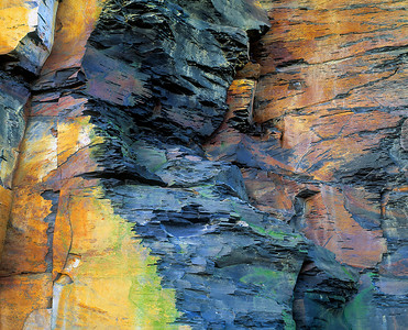 shale abstract #IV, Saltwick Yorkshire coast
