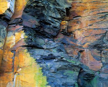 shale abstract #IV, Saltwick Yorkshire coast