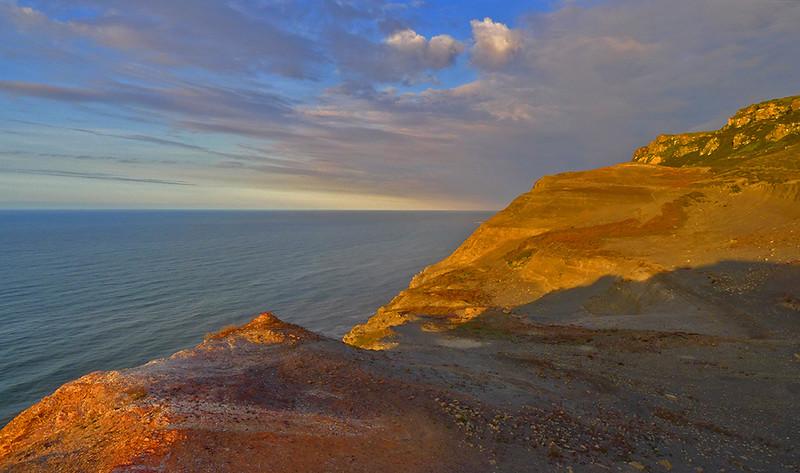 evening light #II, Boulby, Yorkshire coast