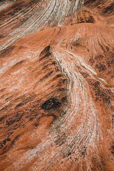 sandstone strata, Isle of Arran, Scotland