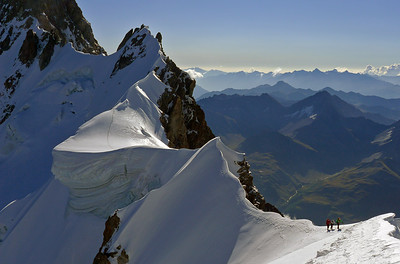 Arete de Rochefort, Massif du Mont Blanc