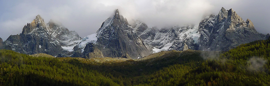 Aiguilles de Chamonix, Massif du Mont Blanc