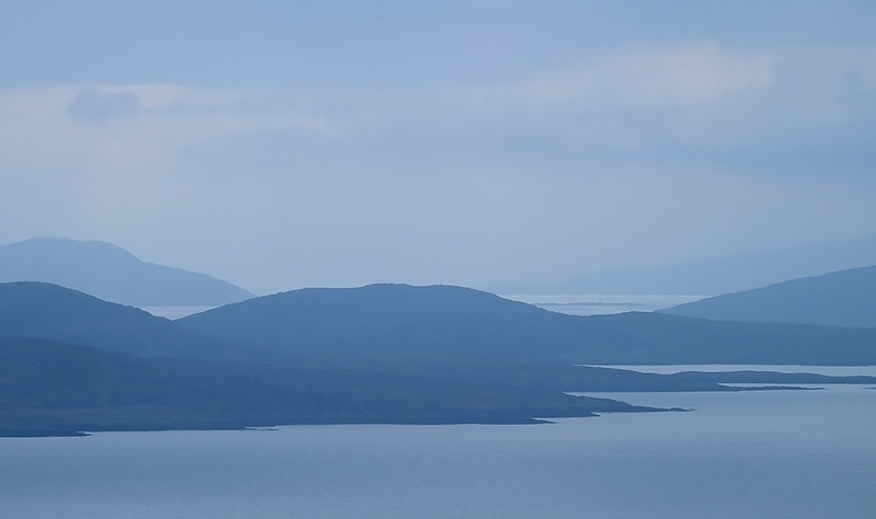 Across the Sound of Barra from Eriskay, Outer Hebrides