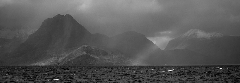 Across Loch Scavaig to the Cuillin, Isle of Skye