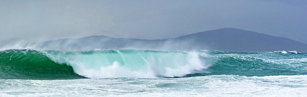 breaking wave, West Harris, Outer Hebrides