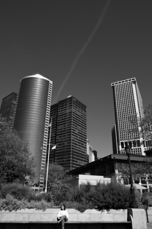 Battery Park, NYC - B&W