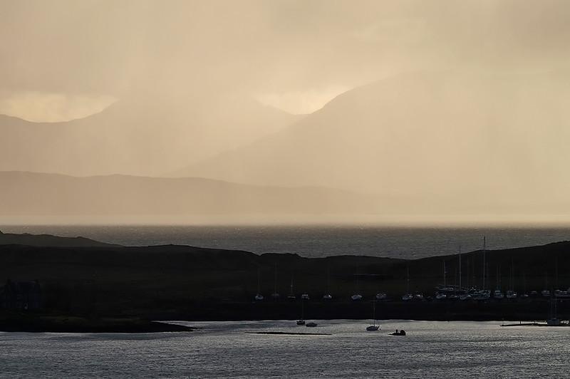 Squalls over Mull, Hebrides, Scotland