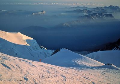 Mont Blanc dawn