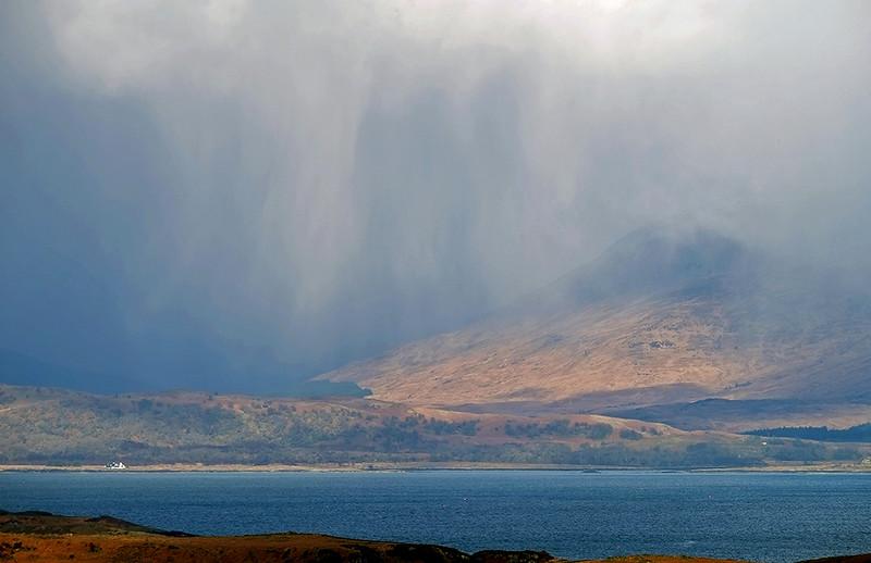 Squalls over Mull, Hebrides