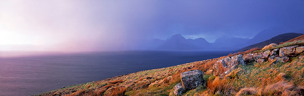 approaching squall, Loch Scavaig, Isle of Skye
