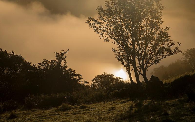 September mists over Llynnau Mymbyr, Snowdonia, North Wales # III
