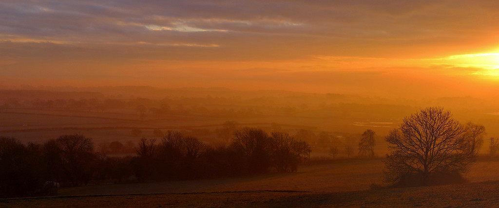 dawn, North York Moors