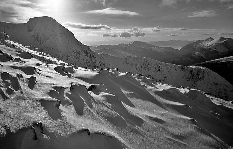Stob Coire nan Lochan, Glencoe, Scottish Highlands