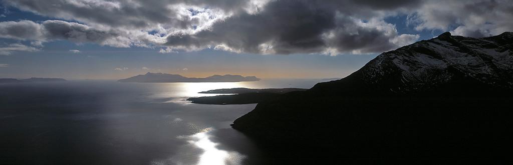 Hebridean jewels, Rhum from the Cuillin, Isle of Skye