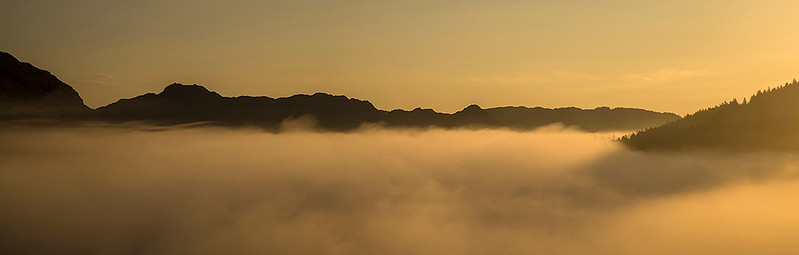 September mists over Llynnau Mymbyr, Snowdonia, North Wales # I