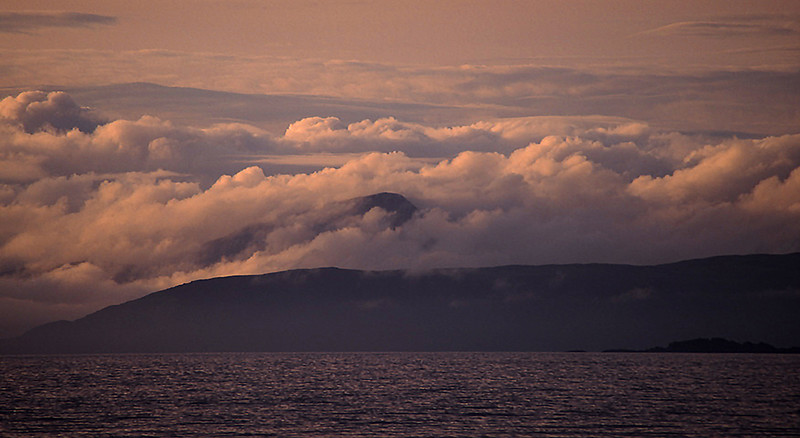 Isle of Mull from Jura, Hebrides