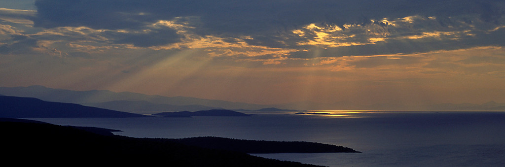 Pelion sunset, Greece