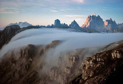 Tre Cima di Lavaredo, Dolomites, Italy