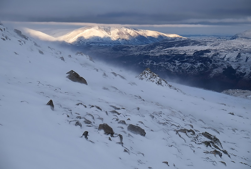 Blencathra from Great Gable, Lake District