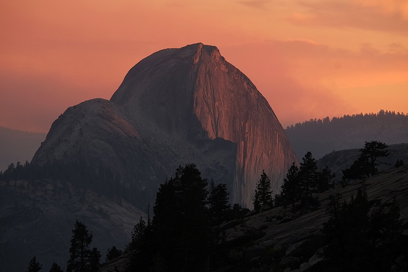 Half Dome, Yosemite Valley, California, USA