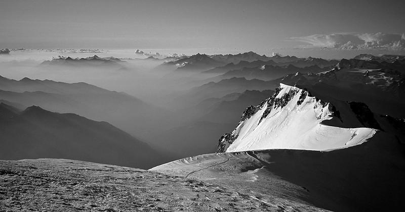 dawn, Mont Blanc # II
