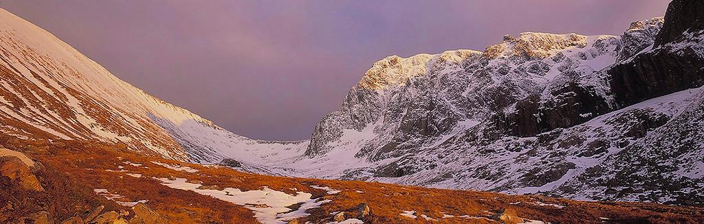 evening light over Ben Nevis, Sottish Highlands