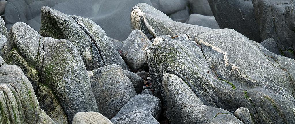 Beach boulders, Dreumasdal, South Uist, Outer Hebrides