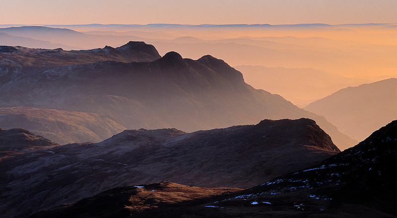 Langdale Pikes, English Lake District