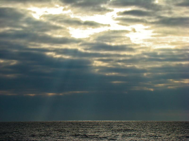 Winter sea-light