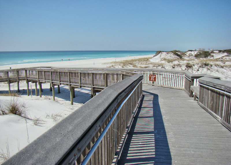Boardwalk to the Emerald Sea